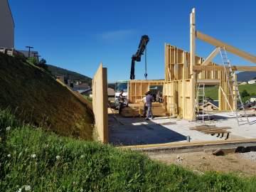 Construction d'une maison avec annexe à Matemale