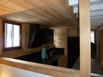 Rénovation de chalet ossature bois à Matemale